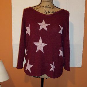Charming Charlie Long Sleeve Pullover Sweater